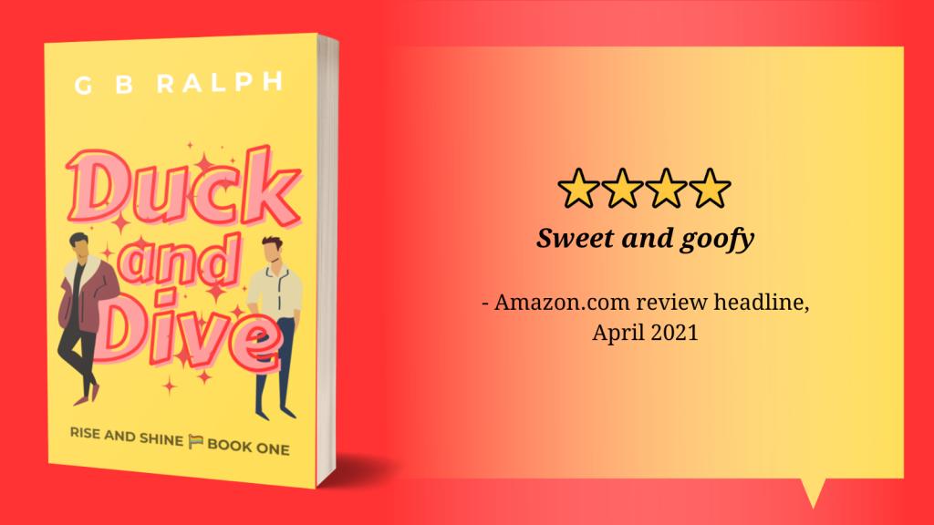 4 stars. Sweet and goofy. Amazon.com review headline, April 2021