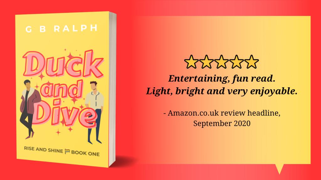 5 stars. Entertaining, fun read. Light, bright and very enjoyable. Amazon.co.uk review headline, September 2020