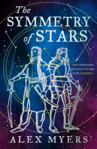The Symmetry of Stars by Alex Myers - book cover